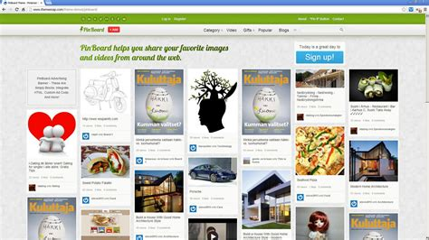 pinterest clone layout 10 best pinterest clones wordpress themes ppdesign