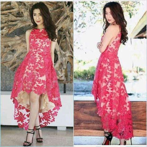 Baju Cantik Murah baju gaun pesta brukat cantik murah desain model terbaru