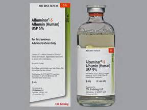Albumin Human 25 100ml By Aquashop albuminar 5 intravenous uses side effects