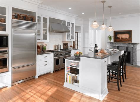 Two Level Kitchen Island Designs 30 Attractive Kitchen Island Designs For Remodeling Your Kitchen Breakfast Bars Bar And Kitchens