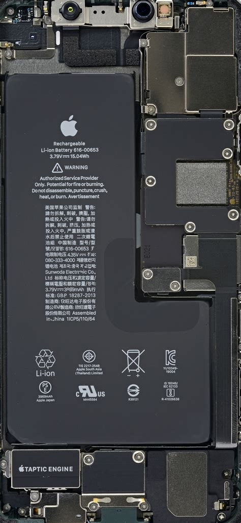 iphone   pro   pro max teardown wallpapers ifixit