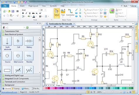 diagramming program schematic diagram software