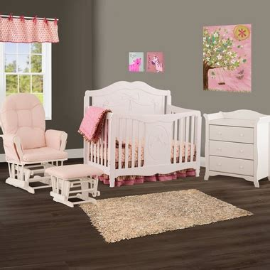 Storkcraft Princess 4 In 1 Fixed Side Convertible Crib White Storkcraft 3 Nursery Set Princess 4 In 1 Fixed Side Convertible Crib Aspen 3 Drawer