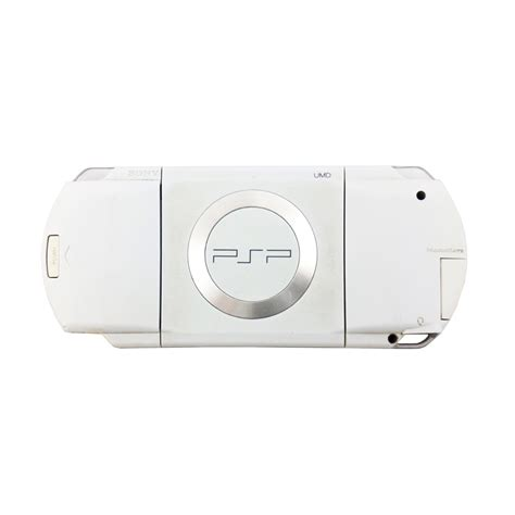 playstation portable console playstation portable 1000 white console pre owned the