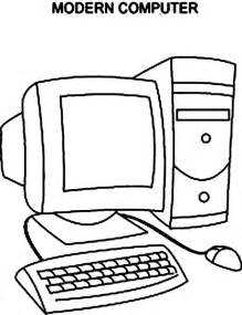 computer coloring pages modern computer coloring page coloring sun