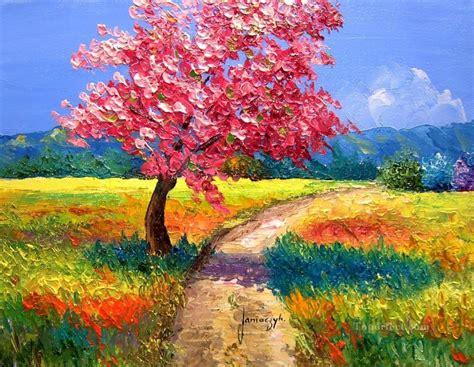 outdoor oil ls for patio garden paintings watercolor gardens flower garden