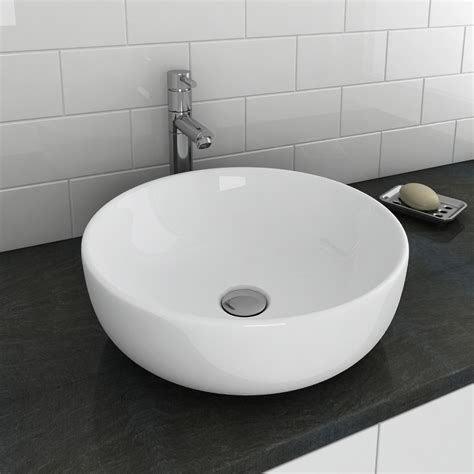 Sol Round Counter Top Basin   Online At Victorian Plumbing