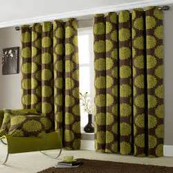 Curtains all curtains lime green ring top lined curtains 90 x