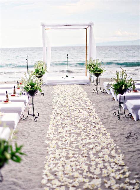 50 Beach Wedding Aisle Decoration Ideas   Deer Pearl Flowers