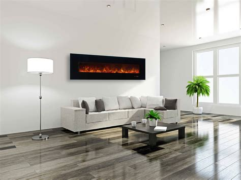 Office Wall Design by Electric Fireplaces Modern Fireplaces Modern Flames