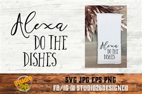 alexa   dishes bundle svg png eps  studio  design  thehungryjpegcom