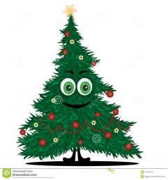 funny christmas tree royalty free stock image image