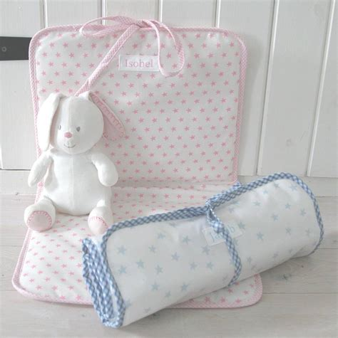 Changing Mat Baby by Personalised Baby Oilcloth Changing Mat By Lilybet