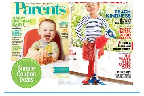 free magazines that have coupons