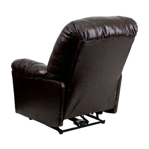 Best Recliners For Back by Flash Furniture Leather Chaise Powerful Comfortable