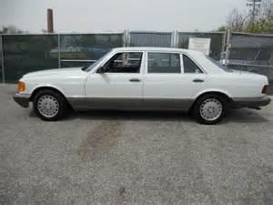 1987 Mercedes 420 Sel 1986 Mercedes 420 Sel Black Interior Mitula Cars