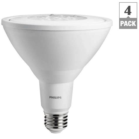 Philips Dimmable Led Light Bulbs Philips 90w Equivalent Bright White Par38 Non Dimmable Ambient Led Flood Light Bulb 4 Pack