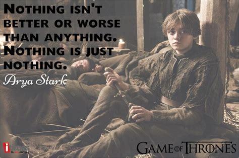 Arya Stark Quotes Game Of Thrones