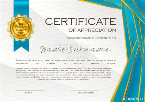 certificate quality template choice image certificate