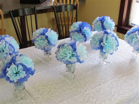 Simple Decorations For Baby Shower by Baby Shower Ideas For Boys On A Budget Decorations