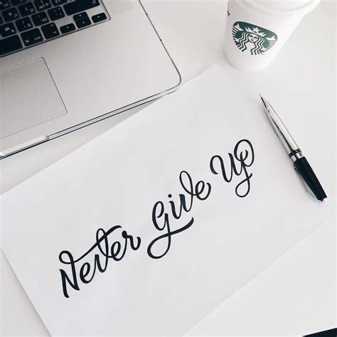 tattoo lettering never give up best 25 tattoo never give up ideas on pinterest popular