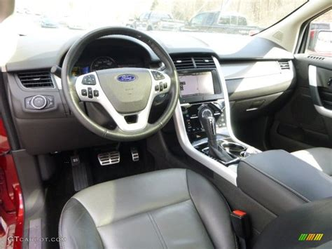 Ford Edge Interior Colors by 2013 Ford Edge Sport Awd Interior Color Photos Gtcarlot