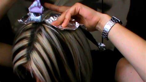 como hacer highliths en el cabello how to highlights como hago las mechas youtube