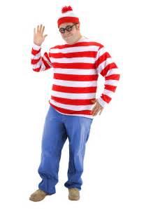 wheres waldo costume plus size where s waldo costume