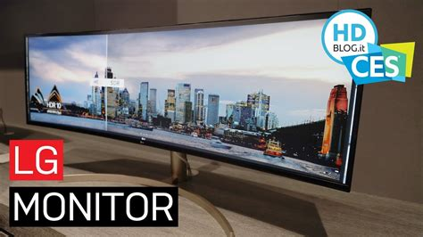 lg nuovi monitor ultrawide  proiettori  tiro ultra
