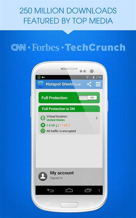 hotspot for android برنامج hotspot shield vpn for android فتح المواقع المحجوبة للاندرويد