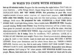 How To Cope With Stress Essay by Toned Sleep Stress Management