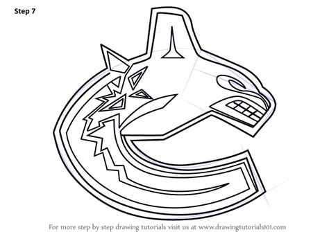 coloring pages vancouver canucks pin vancouver canucks colouring pages on pinterest