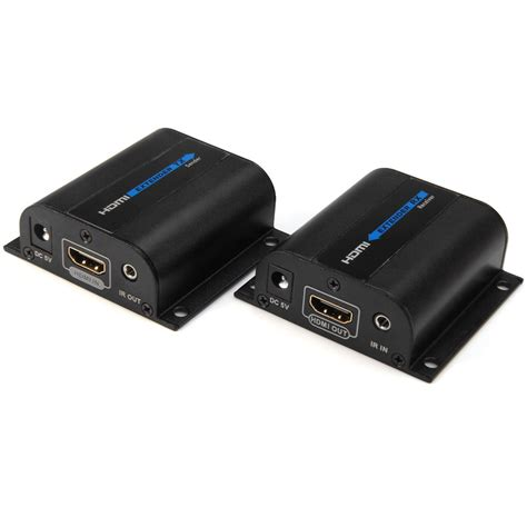 Netline Hdmi Extender 60m Limited hd 1080p 60m hdmi extender tx rx with ir cat6 rj45 ethernet cable support hdmi 3d for hdtv