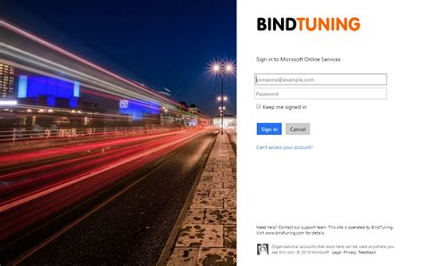 Microsoft Office Cloud Login Customize Office 365 Sign In Page Bindtuning Academy
