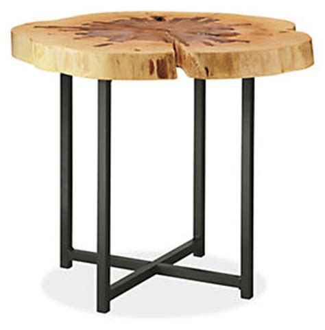 room and board side table reclaimed wood end table high low lessons learned lorri dyner design