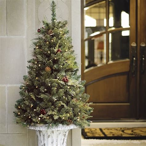 outdoor prelit tree pre lit trees fascinating ideas for indoors