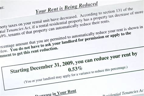 Rent Reduction Letter From Landlord Rent Reduction Is An Early Present For 128 000 Toronto Tenants