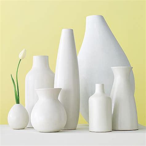 White Ceramic Vase by White Ceramic Vases West Elm