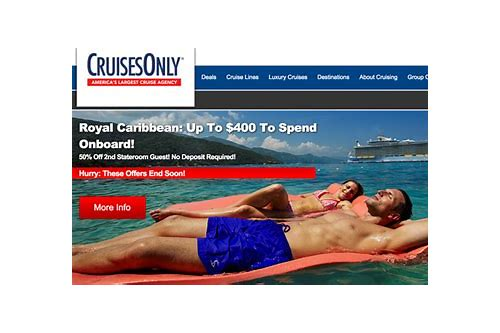 cruise deals travel agent