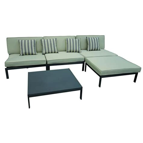 mimosa cable beach 5 piece lounge setting bunnings