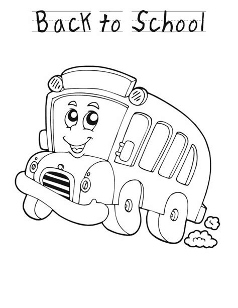 Back To School Coloring Pages For Kindergarten Coloringstar Back To School Coloring Pages For Preschool