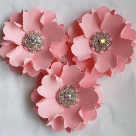 Handmade Flowers Of Paper - 25 best ideas about handmade paper flowers on