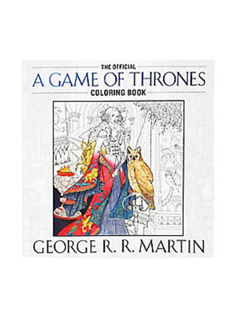 bantam of thrones colouring book of thrones the official coloring book topic