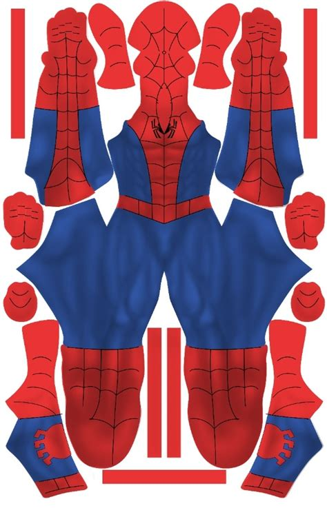 spiderman suit pattern free spectacular spider man suit pattern superher0g33k