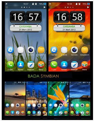 hot themes for symbian official site archiverabhinav beautiful bada 2 theme