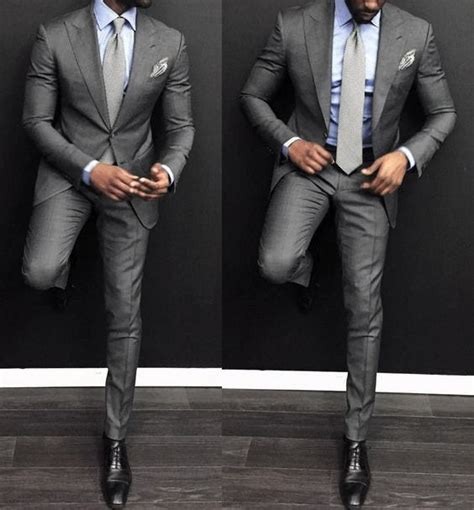shirt with light grey suit top 30 best charcoal grey suit black shoes styles for