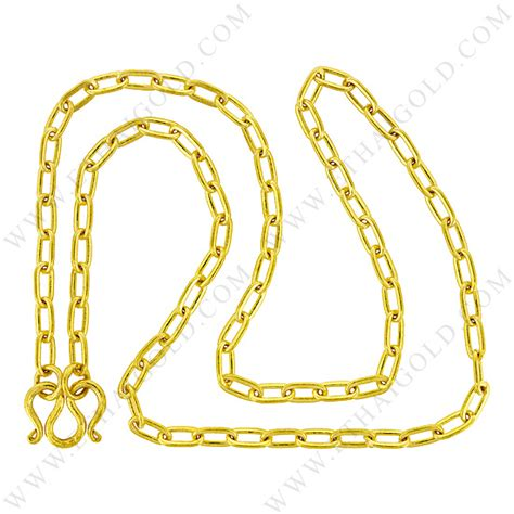 1 2 baht polished solid flat cable chain necklace in