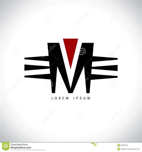 m m logo template letter m logo stock vector image 50669133
