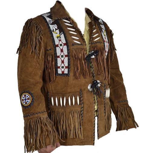 Best Quality Jaket Kombinasi Jaket Cowo Jaket Typisch 44 kfire cowboy western leather jacket beaded bones fringes quality ebay