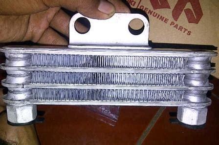 Oilcoller Satria F150 cara membersihkan cooler satria f150